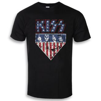 Herren T-Shirt Film Kiss - Stars & Stripes - HYBRIS, HYBRIS, Kiss