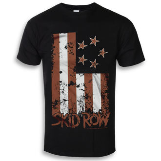Herren T-Shirt Metal Skid Row - Stars & Stripes - HYBRIS, HYBRIS