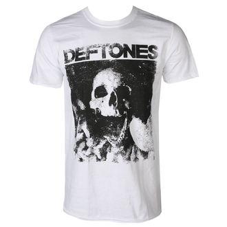 Herren T-Shirt DEFTONES - SKULL - WEISS - PLASTIC HEAD, PLASTIC HEAD, Deftones