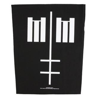 Patch groß Marilyn Manson - Cross Logo - RAZAMATAZ, RAZAMATAZ, Marilyn Manson