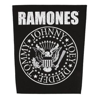 Aufnäher groß RAMONES - CLASSIC SEAL - RAZAMATAZ, RAZAMATAZ, Ramones