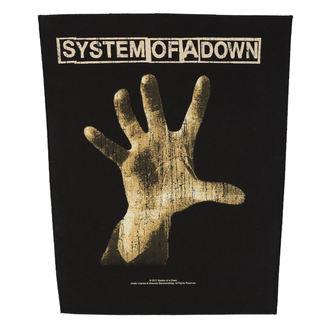 Aufnäher groß SYSTEM OF A DOWN - HAND - RAZAMATAZ, RAZAMATAZ, System of a Down