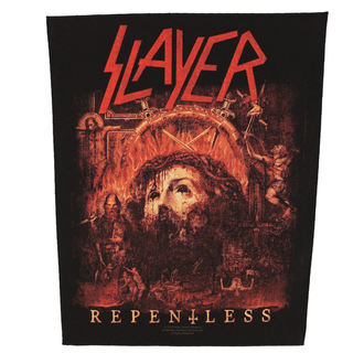 Aufnäher groß SLAYER - RE PENTLESS - RAZAMATAZ, RAZAMATAZ, Slayer