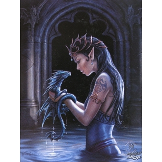 Fahne Anne Stokes - Water Dragon, ANNE STOKES, Anne Stokes