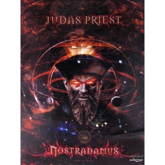 Fahne Judas Priest - Nostradamus, HEART ROCK, Judas Priest