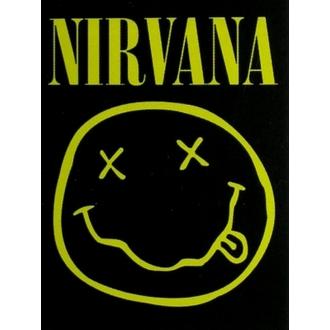 Fahne Nirvana - Smiley, HEART ROCK, Nirvana