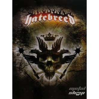 Fahne Hatebreed - Eagle, HEART ROCK, Hatebreed