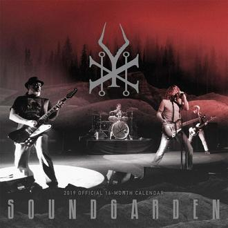 Wandkalender 2019 SOUNDGARDEN, NNM, Soundgarden