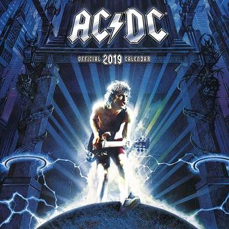 Wandkalender 2019 AC / DC, NNM, AC-DC