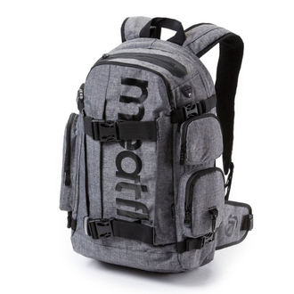 Rucksack MEATFLY - Wanderer 3 - A Heather Gray , MEATFLY
