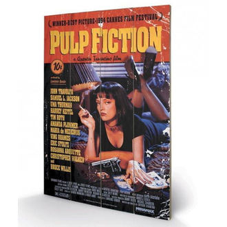 Holzbild Pulp Fiction - (&&string0&&) - PYRAMID POSTERS, PYRAMID POSTERS