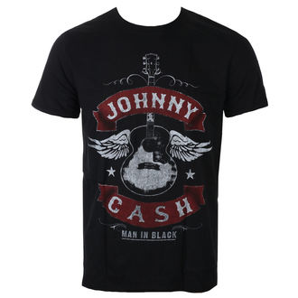 Herren T-Shirt Metal Johnny Cash - Winged Guitar - ROCK OFF, ROCK OFF, Johnny Cash