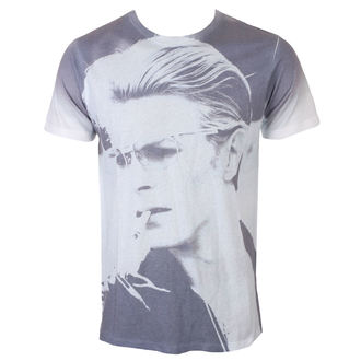 Herren T-Shirt David Bowie - Wild Profile - Weiß - ROCK OFF, ROCK OFF, David Bowie