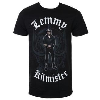 Herren T-Shirt Metal Lemmy Kilmister - Memorial Statue - Schwarz - ROCK OFF, ROCK OFF, Motörhead