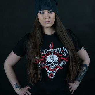 Herren T-Shirt Metal Godsmack - Chrome Pistons - ROCK OFF, ROCK OFF, Godsmack