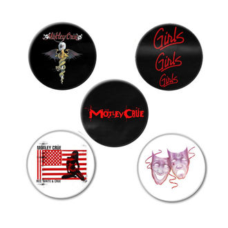 Ansteckbutton Mötley Crüe - DR FEELGOOD - RAZAMATAZ, RAZAMATAZ, Mötley Crüe