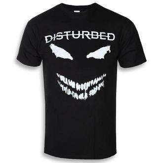 Herren T-Shirt Metal Disturbed - Scary Face - ROCK OFF, ROCK OFF, Disturbed