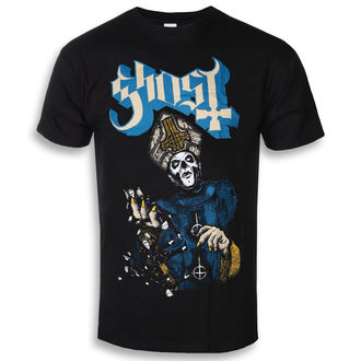 Herren T-Shirt Metal Ghost - Papa Of The World - ROCK OFF, ROCK OFF, Ghost
