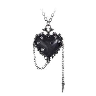 Anhänger mit Halskette ALCHEMY GOTHIC - Witches Heart, ALCHEMY GOTHIC