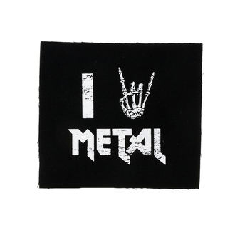 Aufnäher I love metal