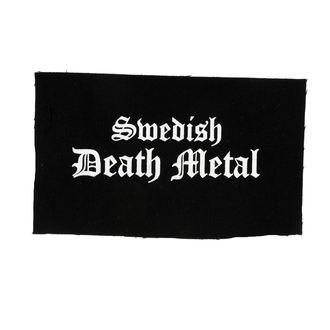 Aufnäher Swedish dead metal