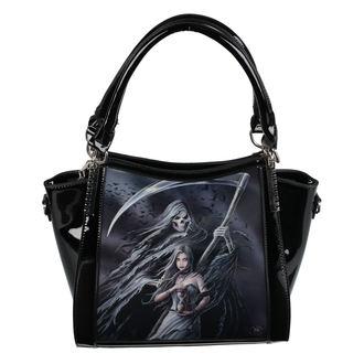 Handtasche (Tasche) ANNE STOKES - Summon The Reaper - Schwarz, ANNE STOKES