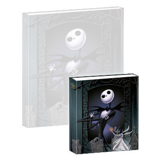 spielendes Notizbuch Nightmare Before Christmas - Musical Mini-Notebook Jack & Zero