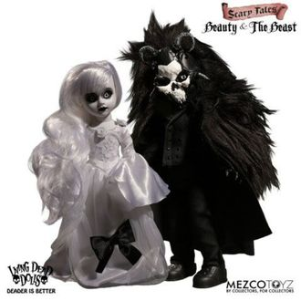 Puppe - Living Dead Dolls - Scary Tales Beauty and the Beast, LIVING DEAD DOLLS