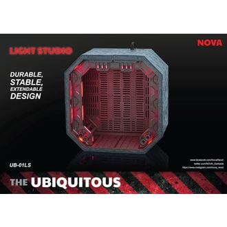 Dekoration (Diorama) Ubiquitous Diorama Case with Lighting for Action Figures LS Edition, NNM