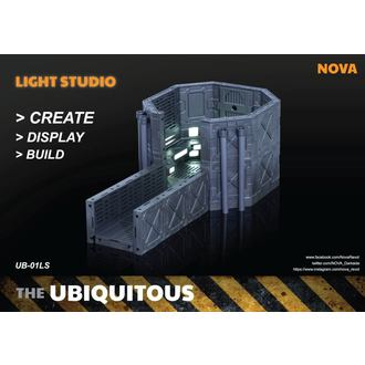 Dekoration (Diorama) Ubiquitous Diorama Case with Lighting for Action Figures LS Edition