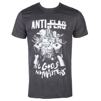 Herren T-Shirt Metal Anti-Flag - No Gods, No Masters - KINGS ROAD, KINGS ROAD, Anti-Flag