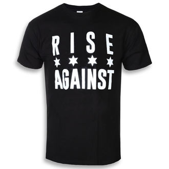Herren T-Shirt Metal Rise Against - Chicago Flag White - KINGS ROAD, KINGS ROAD, Rise Against