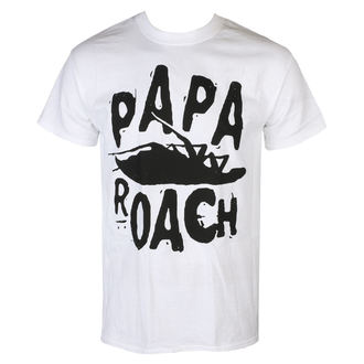 Herren T-Shirt Metal Papa Roach - Classic Logo - KINGS ROAD, KINGS ROAD, Papa Roach