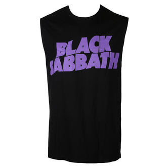 Herren tanktop BLACK SABBATH - PURPLE LGO - BRAVADO, BRAVADO, Black Sabbath