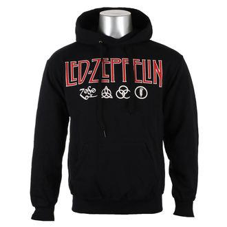 Herren Hoodie Led Zeppelin - LOGO & SYMBOLS - PLASTIC HEAD