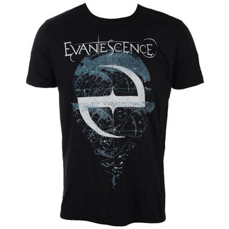 Herren T-Shirt Metal Evanescence - SPACE MAP - PLASTIC HEAD, PLASTIC HEAD, Evanescence
